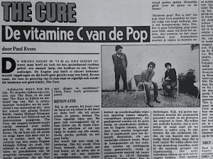 The Cure Oor 1979 - Vitamine C